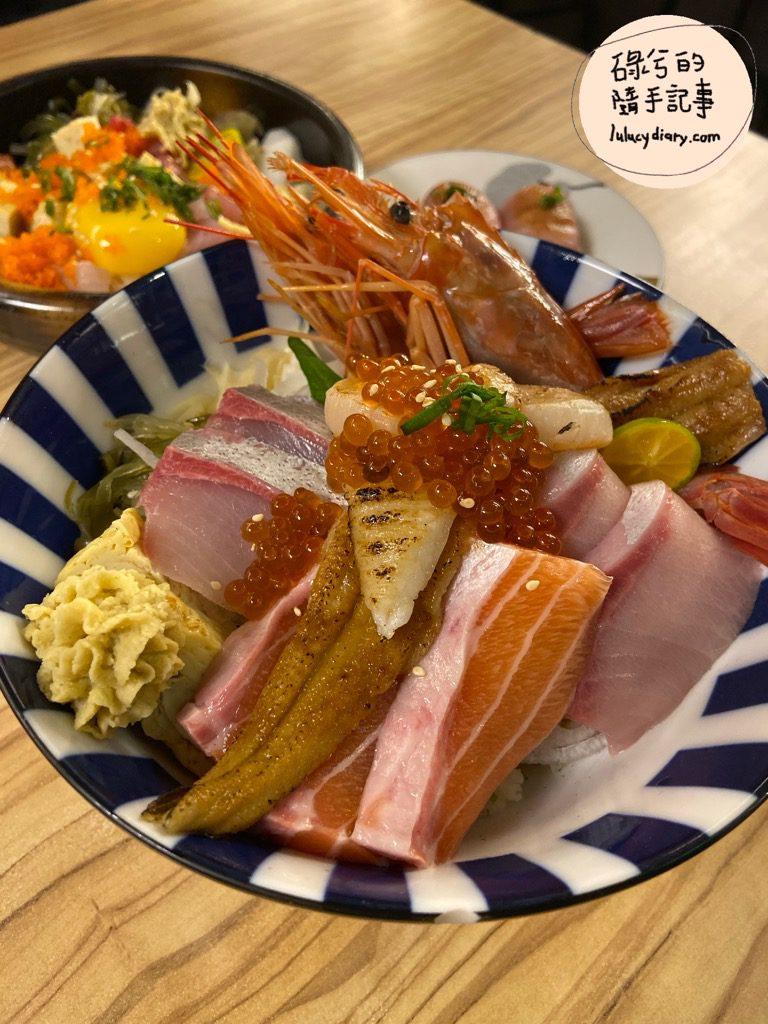 IMG 9852 2 - 五漁村丼飯屋, 台北高cp海鮮丼, 西湖 丼飯, 高cp海鮮丼