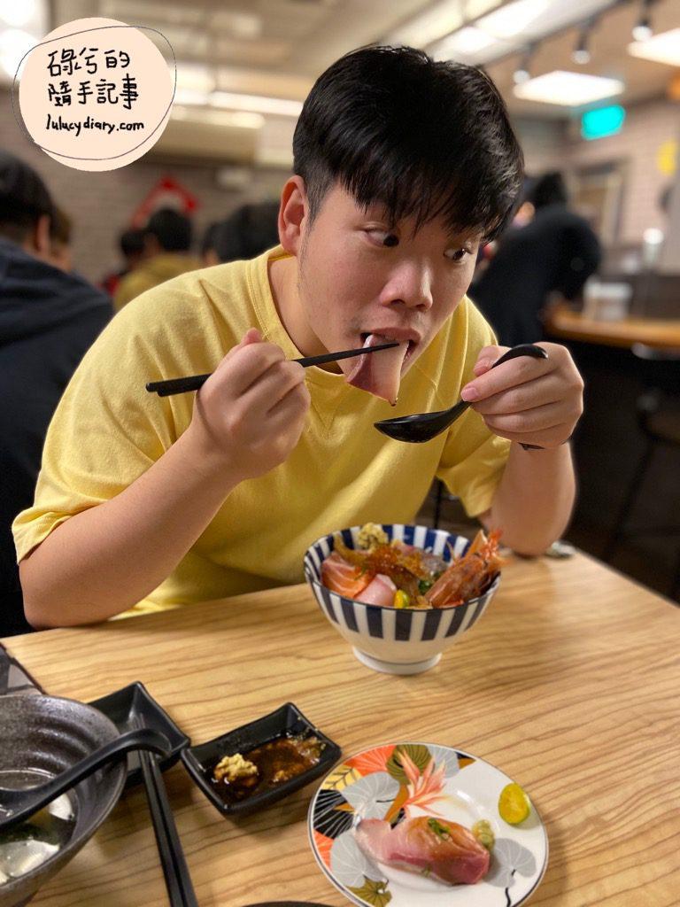 IMG 9855 2 - 五漁村丼飯屋, 台北高cp海鮮丼, 西湖 丼飯, 高cp海鮮丼